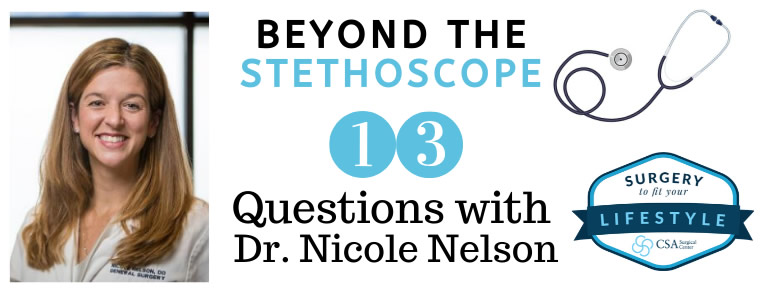 13 Questions with Dr Nelson