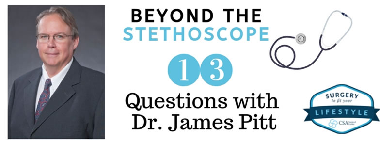 13 Questions with Dr Pitt