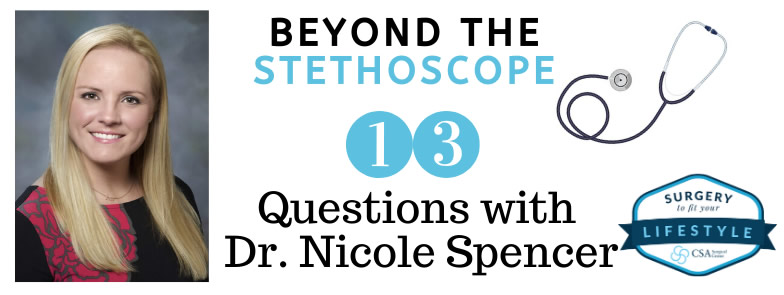 13 Questions with Dr Spencer