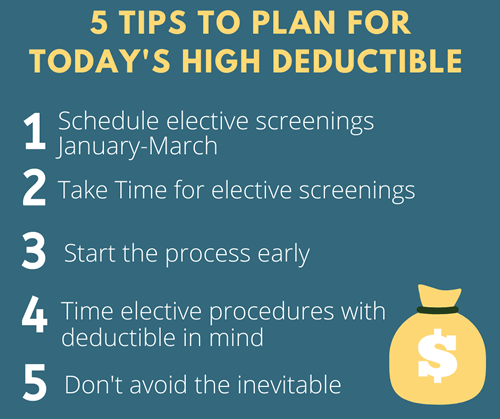 New Year Deductible Tips